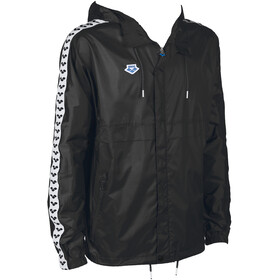 arena Skipper Team Windjacke black/white/black